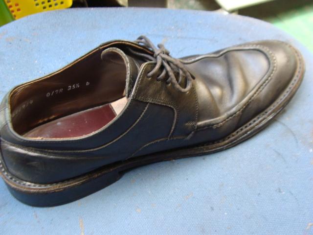 出し縫いの部分縫直し 1500円+消費税 紳士革靴 | 靴修理でお悩み ...