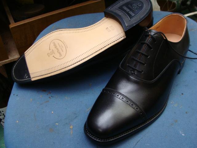 SCOTCH GRAIN スコッチ・グレイン 新品紳士革靴 ハーフソール補強 ...