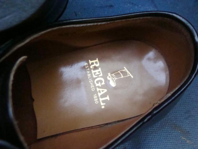 Regal リーガルの紳士革靴ソール割れによりオールソール修理 ...