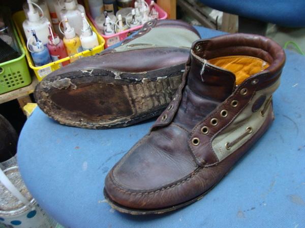 オールソール修理 11500円+消費税 ブーツ丸洗い 3000円+消費税 Timberland ティンバーランド ソールはすでに無いサムネイル