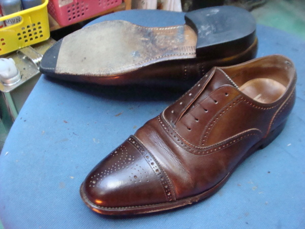 SCOTCH GRAIN スコッチグレインの紳士革靴 色々修理サムネイル