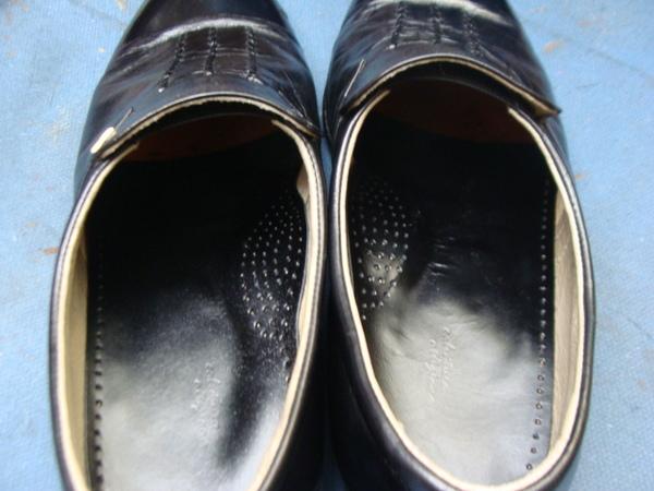 ウィングチップ紳士革靴 かかとゴム取り付け サムネイル