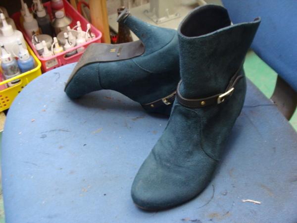 GUCCI グッチの紳士革靴 かかとゴム交換 ちょっと履きすぎサムネイル