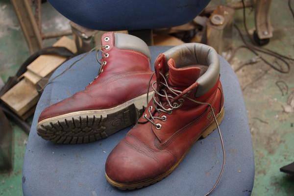 オールソール修理 11500円+消費税 Timberland ティンバーランドフィールドブーツ ソール劣化サムネイル