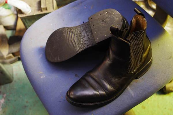 三重県 I様 CEDAR CREST セダークレスト サイドゴアブーツ オールソール ブランド不明のブーツも一緒にサムネイル