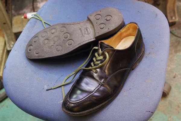 東京都 S様 SANDERS サンダース 紳士革靴 オールソール修理 ダイナイトソールサムネイル